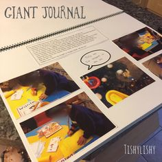 A big floor book documenting weekly learning in my eyfs class. Senior Games, Senior Activities, Physical Activities, Class Journals, Musik Player, Eyfs Classroom, Classroom Ideas, Reception Class, Play Based Learning