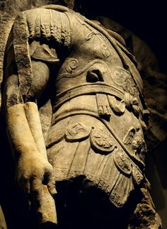 "Detail of the Apotheosis of Lucius Verus. Scene from a cycle ""Apotheosis"" of the Parthian frieze from Ephesos. Dolomitic marble from Thasos. 186 x 163 cm. After 169 (166?) CE. Inv. No. I 867. Vienna, Ephesos Museum."