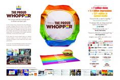 Proud Whopper - Burger King Ads Creative, Creative Advertising, Advertising Design, Burger King, Presentation Board Design, Advertising Awards, Brand Campaign, Online Campaign, Foto Instagram