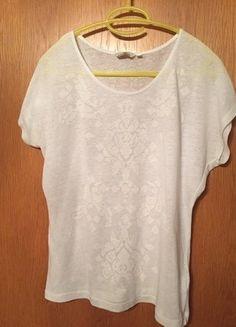 #TomTailor #T-Shirt #Shirt #Damen #Damenshirt #weiß #Sommer #Mode #Kleiderkreisel http://www.kleiderkreisel.de/damenmode/t-shirts/139641396-weisses-t-shirt-von-tom-tailor