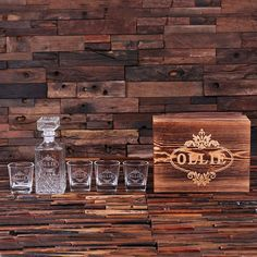 Groomsmen gift   Personalized Engraved Etched Scotch Whiskey by TealsPrairie, $47.50