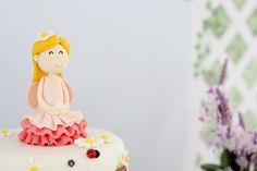Fairy Cake Topper from a Magical Secret Garden Birthday Party via Kara's Party Ideas | KarasPartyIdeas.com (4)
