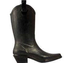 Great dav Women's Western Cowboy Lizard Boot