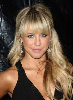 Blondes with Bangs - Chelsie Hightower Long Hair Styles