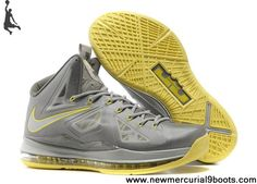 85d76b4493ab0 2013 Nike Lebron X (10) Canary Diamond Style 541100-007 Nba
