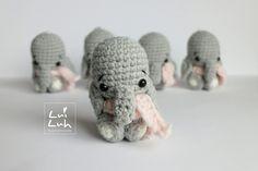 "Free pattern ""LuiLuh-baby-elephant"" by @LuiLuh.handmade   Kostenlose Anleitung ""LuiLuh – Elefant"" von @LuiLuh.handmade"