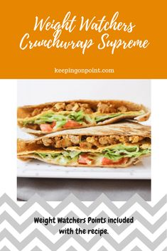 Crunchwrap Supreme – Weight Watchers Freestyle Way less points than fast food! Fast Food, Fast Healthy Meals, Healthy Detox, Healthy Drinks, Healthy Recipes, Ww Recipes, Dinner Recipes, Skinny Recipes, Free Recipes