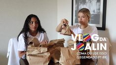 Joalin   Desafios: Coma ou use isso! ft. Any Gabrielly (Legendado PT-BR) The Unit, Memes, Youtube, Ships, Artists, Movie Wallpapers, Challenges, Trading Cards, Toddler Girls