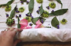 Eco Dyeing With Flowers: Part 1 | Free People Blog #freepeople