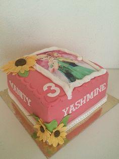 Frozen cake by Passie voor Taarten