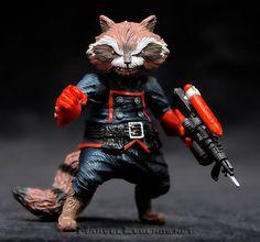 Marvel Legends Rocket Raccoon Series Rocket Raccoon