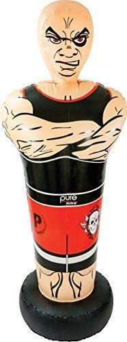 """Pure Boxing Inflatable Free-Standing """"Tough Guy"""" Punching Bag with Bounce-Back Base, Youth Ages Sports Toys, Kids Sports, Best Punching Bag, Youth Age, Things That Bounce, Things To Sell, Kiddie Pool, Pool Floats, Tough Guy"""