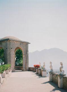 Destination Wedding at Villa Cimbrone