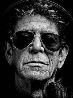 Lou Reed in 2013. Hedi Slimane