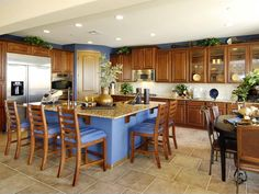 Kitchen Islands: Beautiful, Functional Design Options | Kitchen Designs - Choose Kitchen Layouts & Remodeling Materials | HGTV