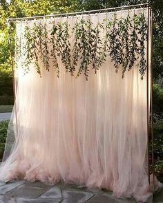 Inspiração linda para cerimônia ao ar livre no campo!  Via Haute Floral  #casarei #wedding #casamento #instawed #instawedding #ceremony #cerimônia