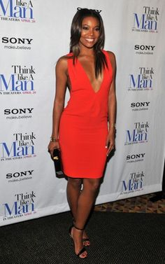 Duly Noted: Gabrielle Union's Red Dress Moment and Strappy Shoe Game