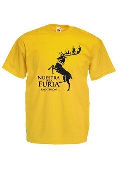 Camiseta Casa Baratheon, diseño 2