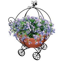 Подставка для цветов Волшебная тыква 51-302