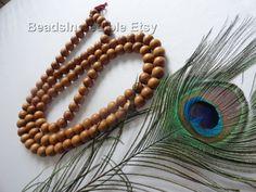 Premium FRAGRANT Sandalwood Buddhist Prayer by beadsincredible, $39.95