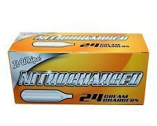 144 (NITRO 24) Whipped Cream Chargers - 8.5g Supercharged N2O - 6 boxes of NITRO 24 by Best Whip. $51.15. Save 22% Off!