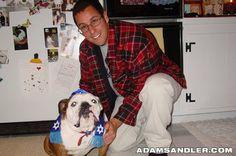 Adam Sandler and Meatball! :))