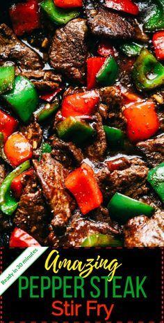 Steak Stirfry Recipes, Grilled Steak Recipes, Stir Fry Recipes, Meat Recipes, Cooking Recipes, Healthy Recipes, Sandwich Recipes, Flank Steak Recipes, Recipes With Steak