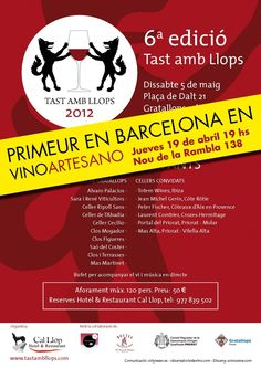 another wine event, courtesy of Vino Artesano of Barcelona, brought here by www.bodegatours.com