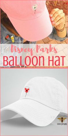 I love this Disney Parks balloon hat! #Disney #Disneyland #DisneyParks #DisneyWorld #Ad #DisneyHat #DisneyDay