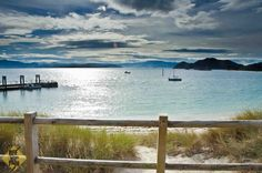 Cíes Islands near Vigo in Spain