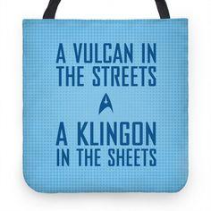 A Vulcan In the Streets (Blue) #startrek #space #scifi #nostalgia #television #vulcan #klingon #trek