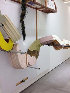Abstract sculptural tableaux from Helen Marten at @SadieColesHQ
