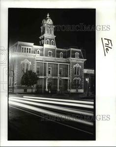 1986 Press Photo Ohio Medina County Court House at Night CVB04086 | eBay