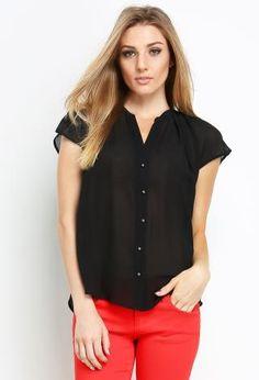 China Collar Blouse | Shop New Arrivals at Papaya Clothing