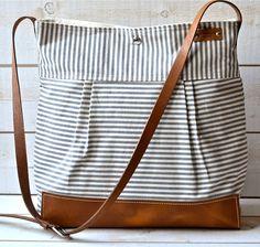 Messenger bag STOCKHOLM Gray