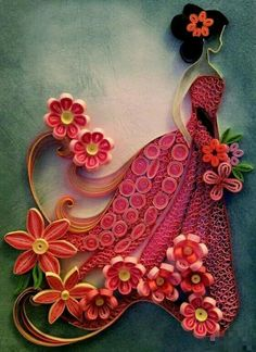 ~The Art Of Paper Quilling~