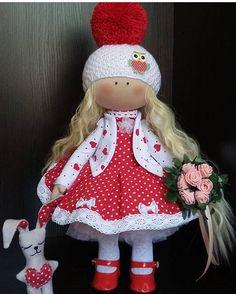 """324 Me gusta, 2 comentarios - ⠀⠀⠀Ручная работа⠀ Handmade (@planet_of_handmade) en Instagram: """"Текстильные куколки ручной работы. Рост 38см. По вопросам приобретения обращаться…"""""""