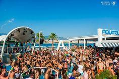 Fotos aus dem Club Zrce Beach (Novalja / Insel Pag) im Sommer 2014. Freundlicherweise zur Verfügung gestellt von Klemen Stular. Get ready for Zrce 2015 #zrcebeach