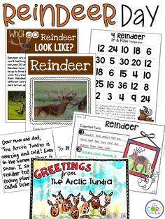 Printable reindeer t