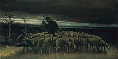 Vincent van Gogh: The Paintings (Shepherd with a Flock of Sheep)