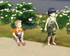Toddler Camouflage Overalls Recolor by Katybug273 at Mod The Sims • Sims 4 Updates
