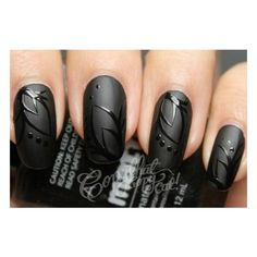 NYX Cosmetics Matte Nail Lacquer Polish MNP13 Matte Black ❤ liked on Polyvore featuring beauty products, nail care, nail polish, nails, makeup, unhas, beauty, glossy nail polish, nyx and nyx nail polish