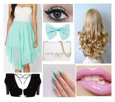 """""""Date!"""" by sanchez-ashley ❤ liked on Polyvore featuring Design Inverso and Wet Seal"""