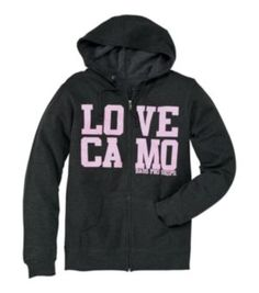 Bass Pro Shops® ''Love Camo'' Hooded Sweatshirt for Ladies - Long Sleeve | Bass Pro Shops
