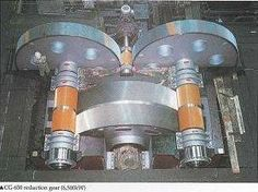 Reduction gear for cement mill.