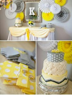 Neutral gender reveal baby shower
