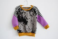geometric sweater child spots AW14CHSW21