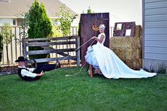 cute western themed wedding