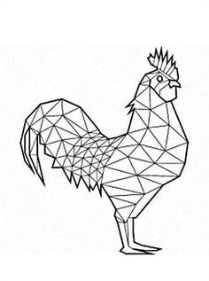 Geometric Quilt, Abstract Geometric Art, Geometric Drawing, Geometric Shapes, Hilograma Ideas, Posters Diy, Polygon Art, Thread Art, Mosaic Patterns