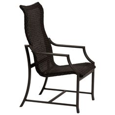 Windsor Woven Dining Chair from Tropitone Outdoor Patio Furniture